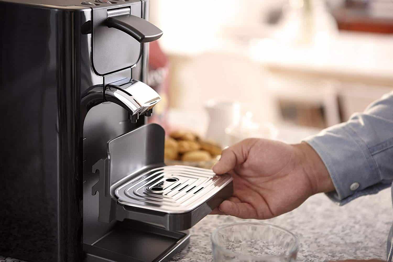 Philips HD7866/61 : Choix de la machine a café senseo