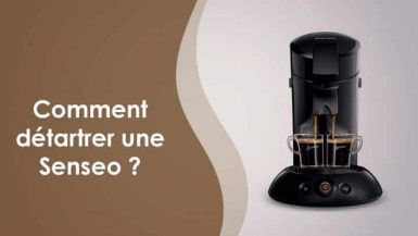 detartrage machine a café senseo